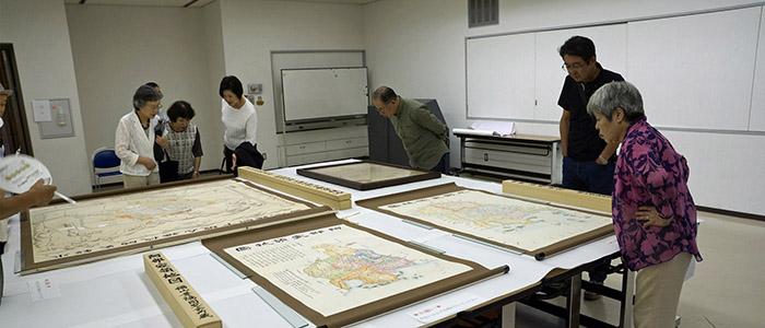 古地図展示