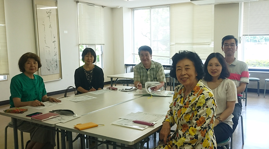 作品展実行委員のメンバー